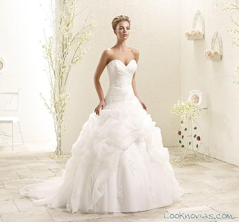 vestido de novia princesa por eddy k