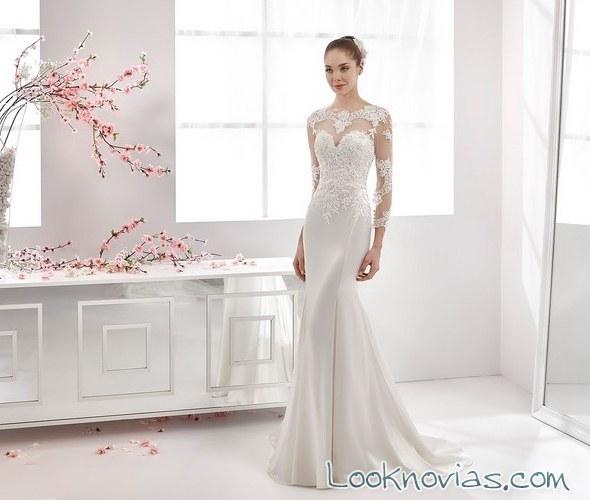 vestido de novia sirena aurora
