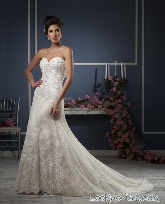 vestido de novia sirena bonny