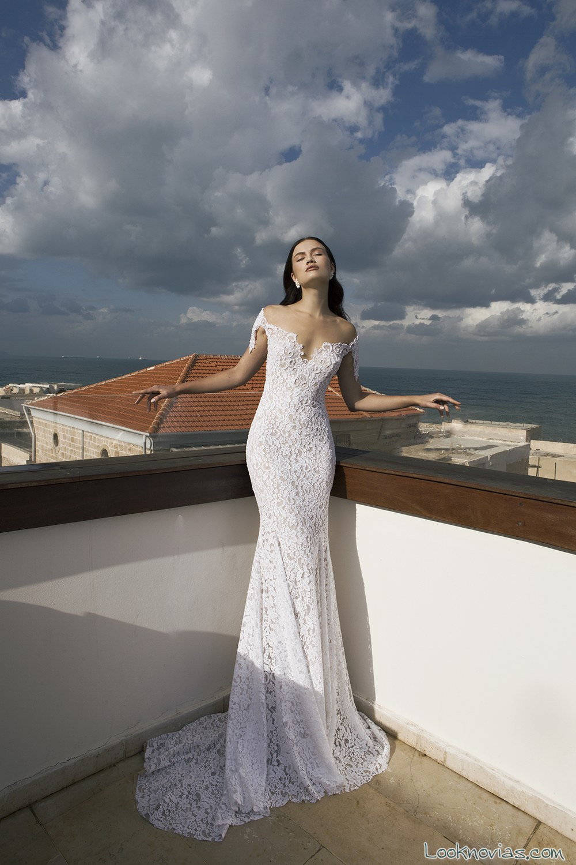 vestido de novia sirena de hadas cohen
