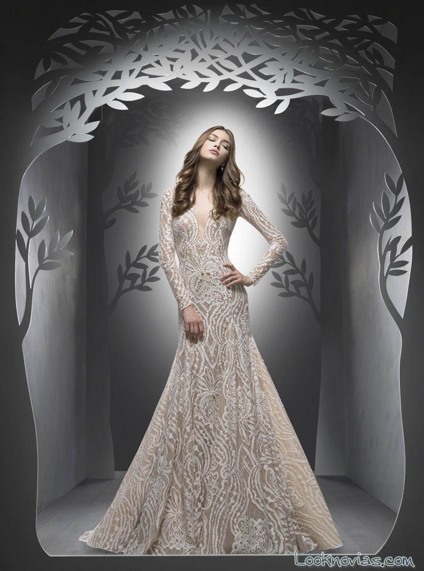vestido de novia sirena ersa atelier