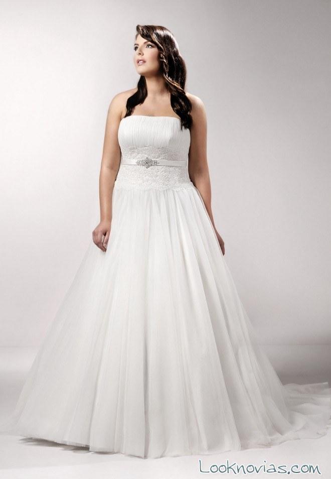 vestido de novia tallas grandes agnes bridal