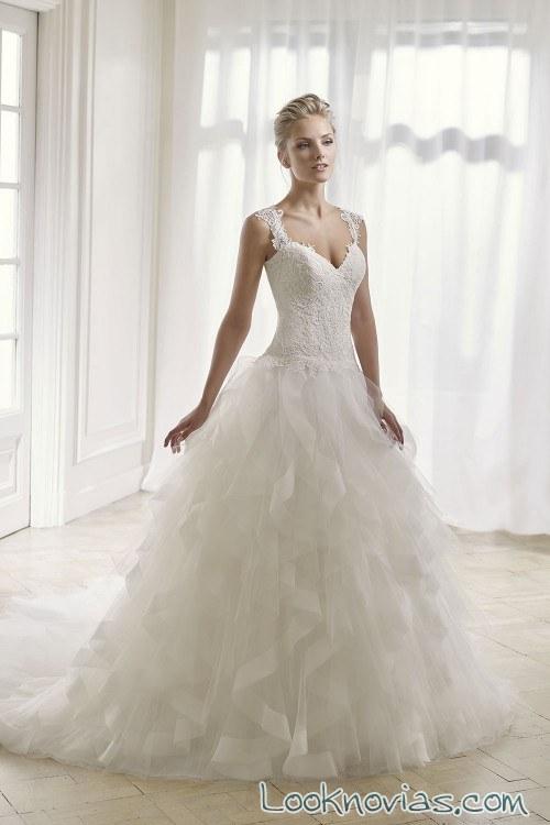 vestido de novia tirantes divina sposa