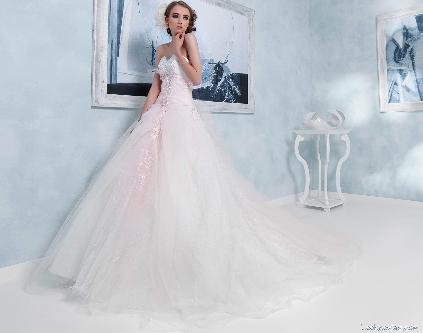 vestido de novia toi spose en color