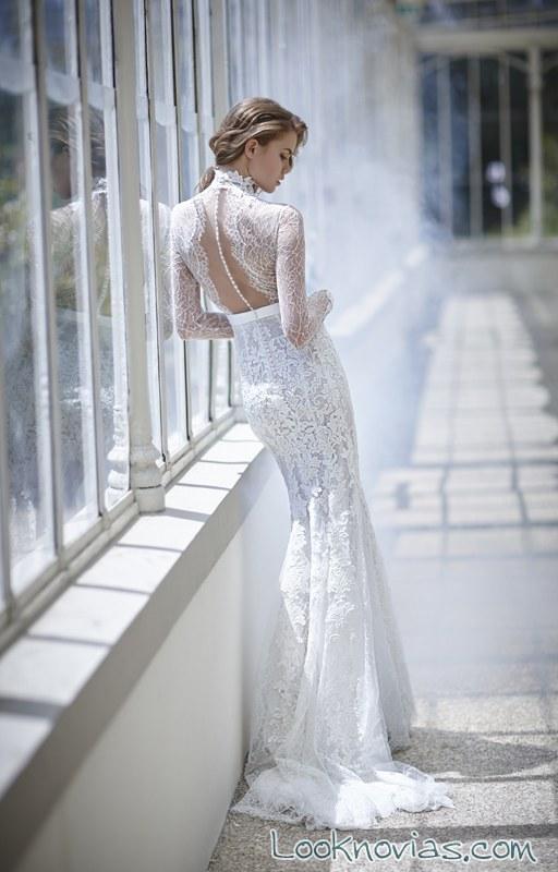 vestido de novia victoria f con escote