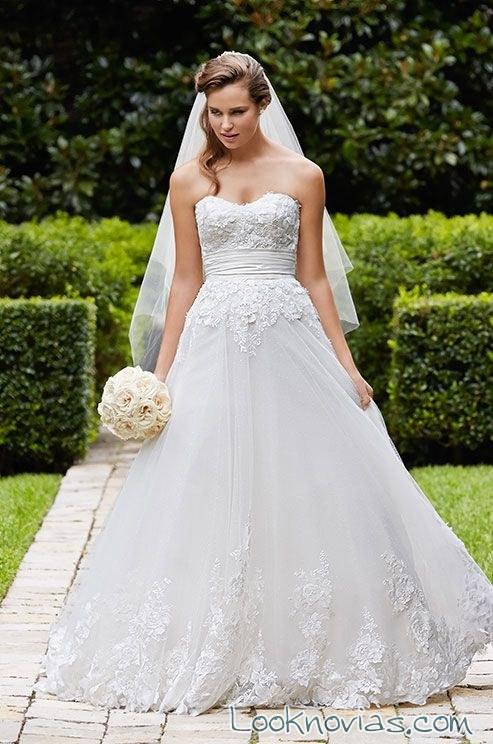 vestido de novia wtoo corte a