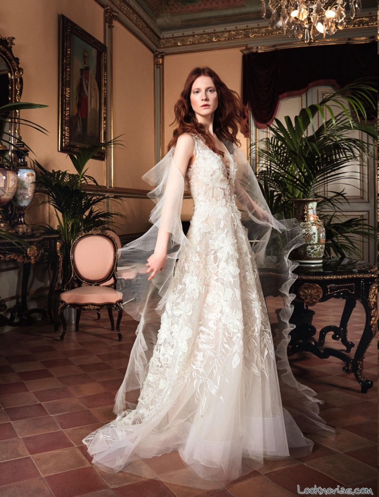 vestido de novia yolancris 2017 blanco
