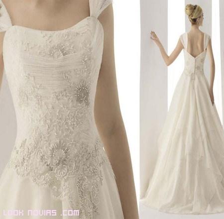 vestido de novia romántico