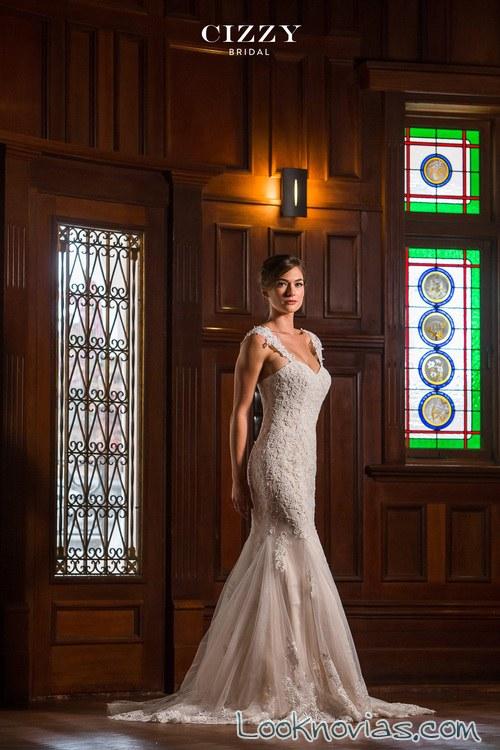 vestido de sirena cizzy bridal