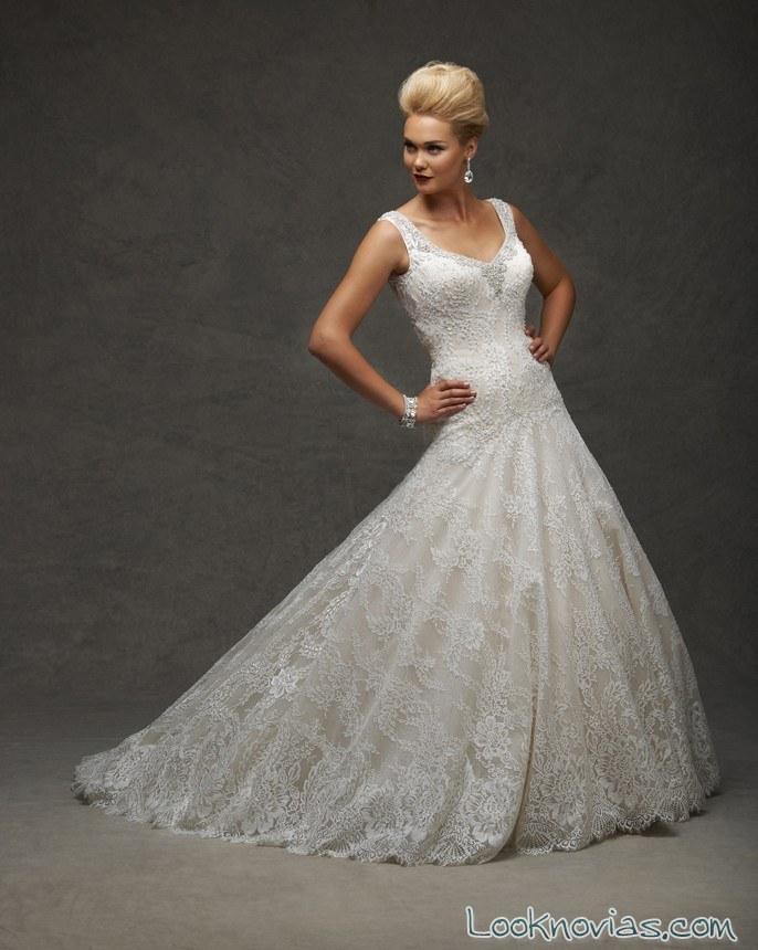vestido de tirantes bonny bridal