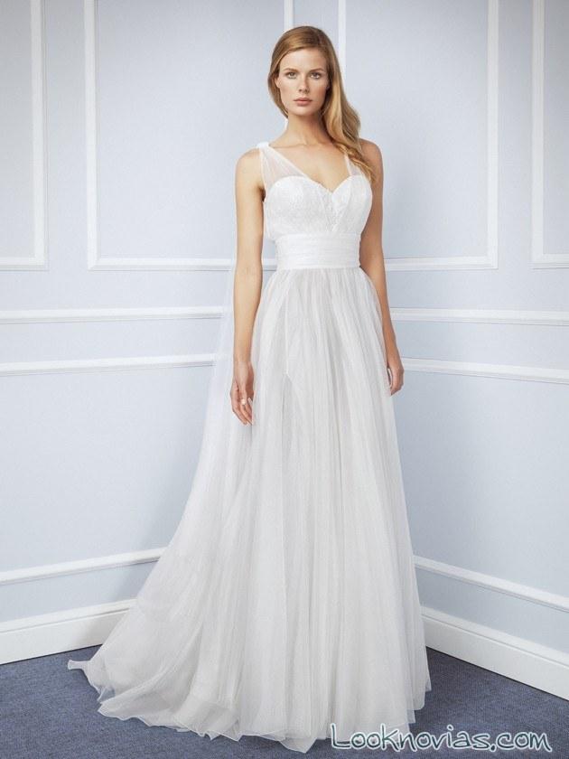 vestido de tul blumarine novias
