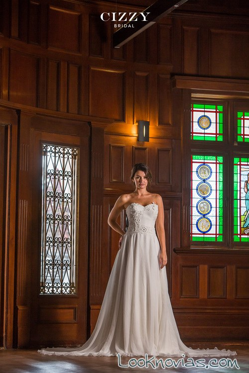 vestido de tul cizzy bridal