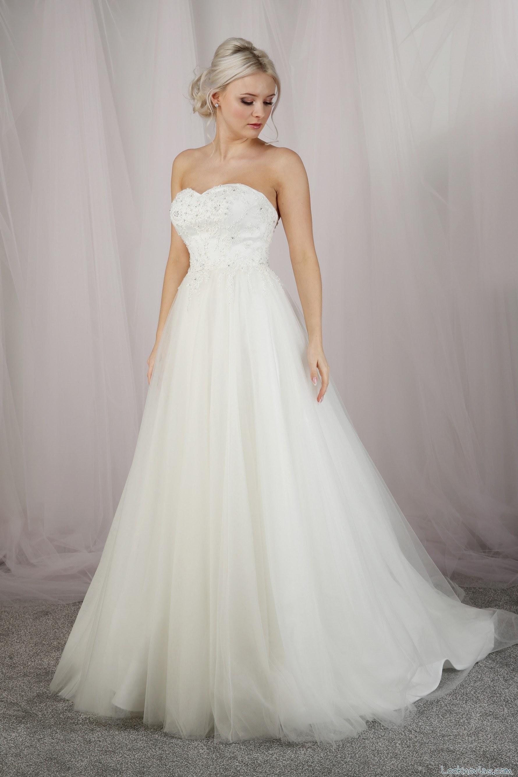 vestido de tul novias 2017 emma bridals