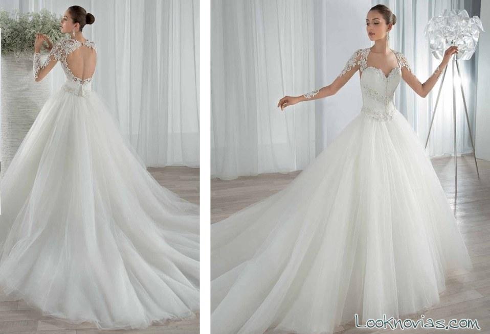 vestido demetrios novias princesa