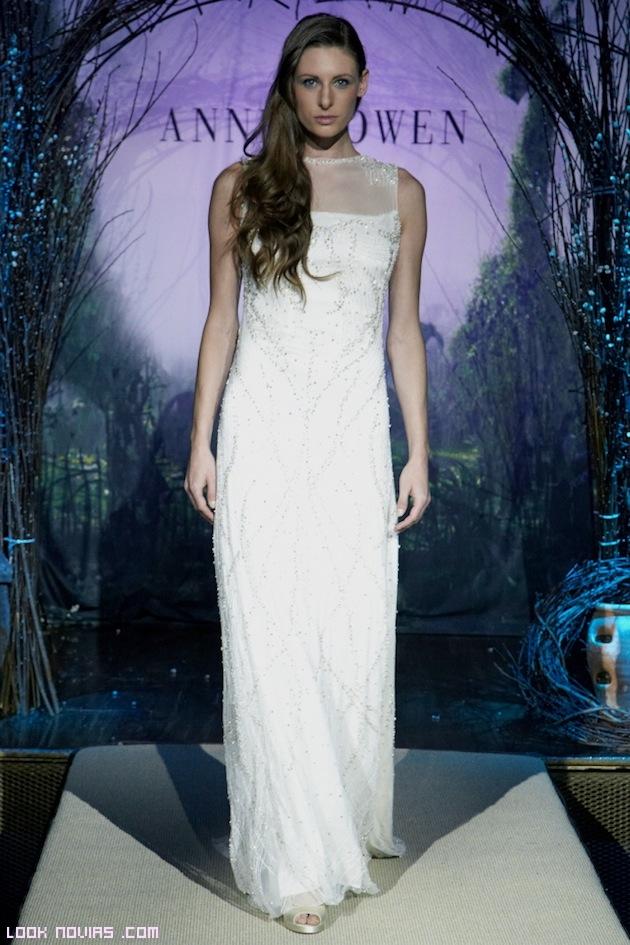 vestidos novia con poco escote