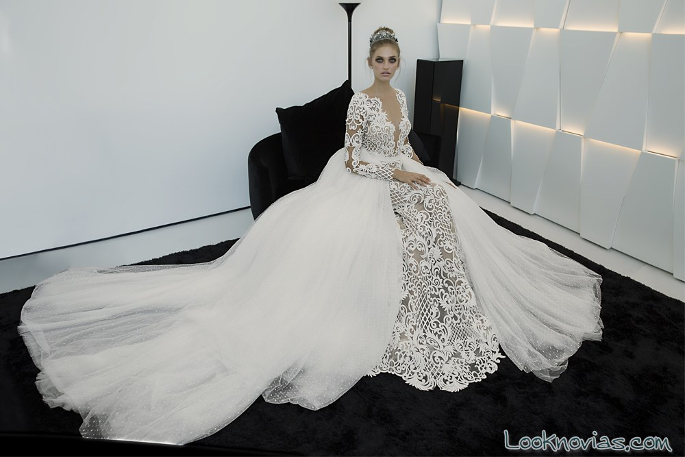 vestido doble falda de hadas cohen 2017