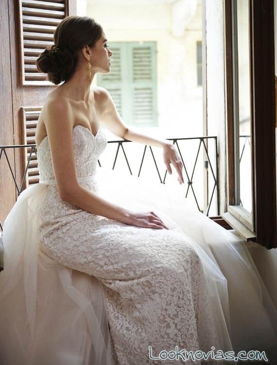 vestido doble falda stephanie allin