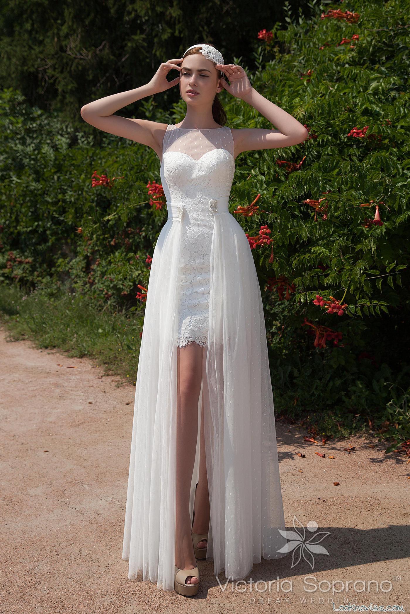 vestido doble falda victoria soprano