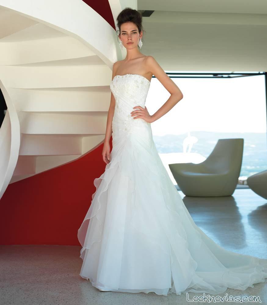 vestido elegante de valentini spose