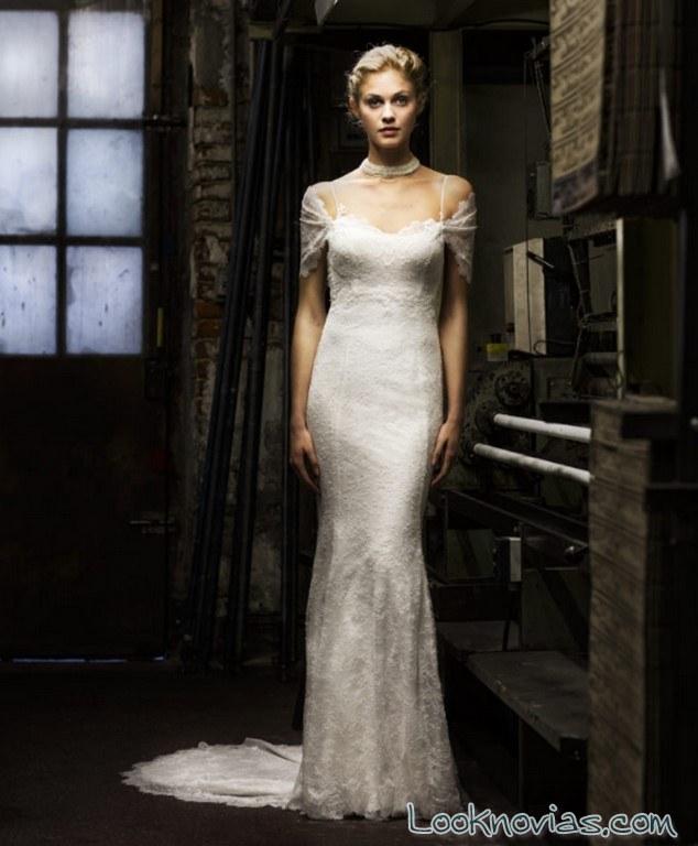 vestido elegante recto de cymbeline