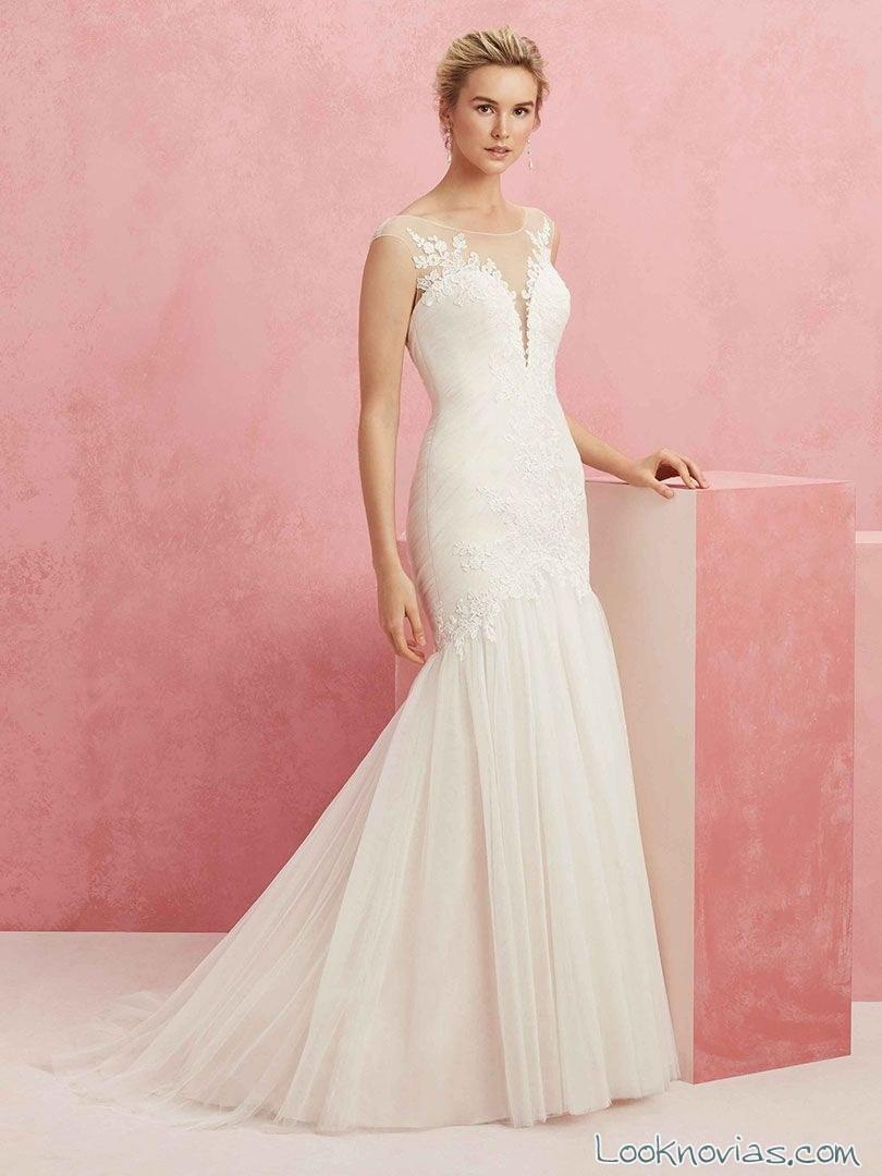 vestido escotes encajes fantasía novias beloved