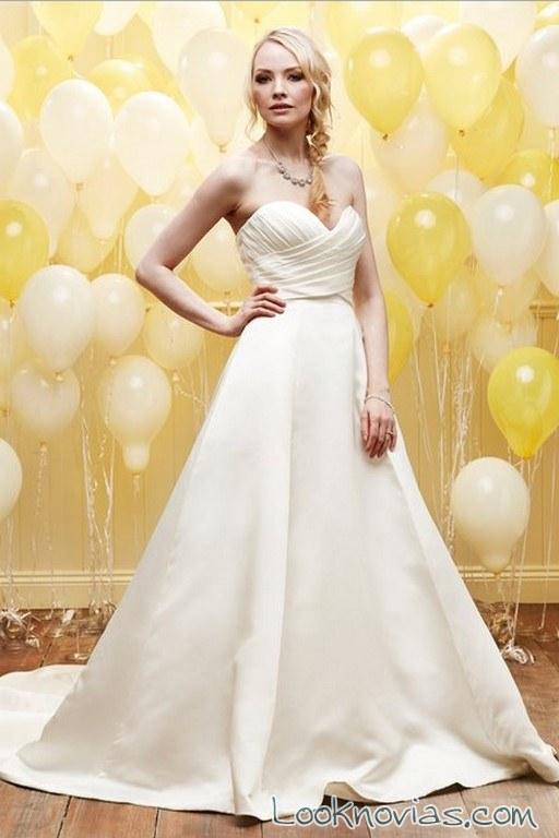 vestido evasé daisy bridal