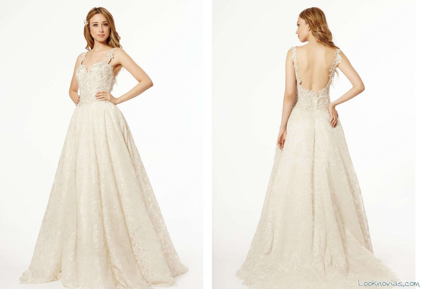 vestido evasé de francesca miranda