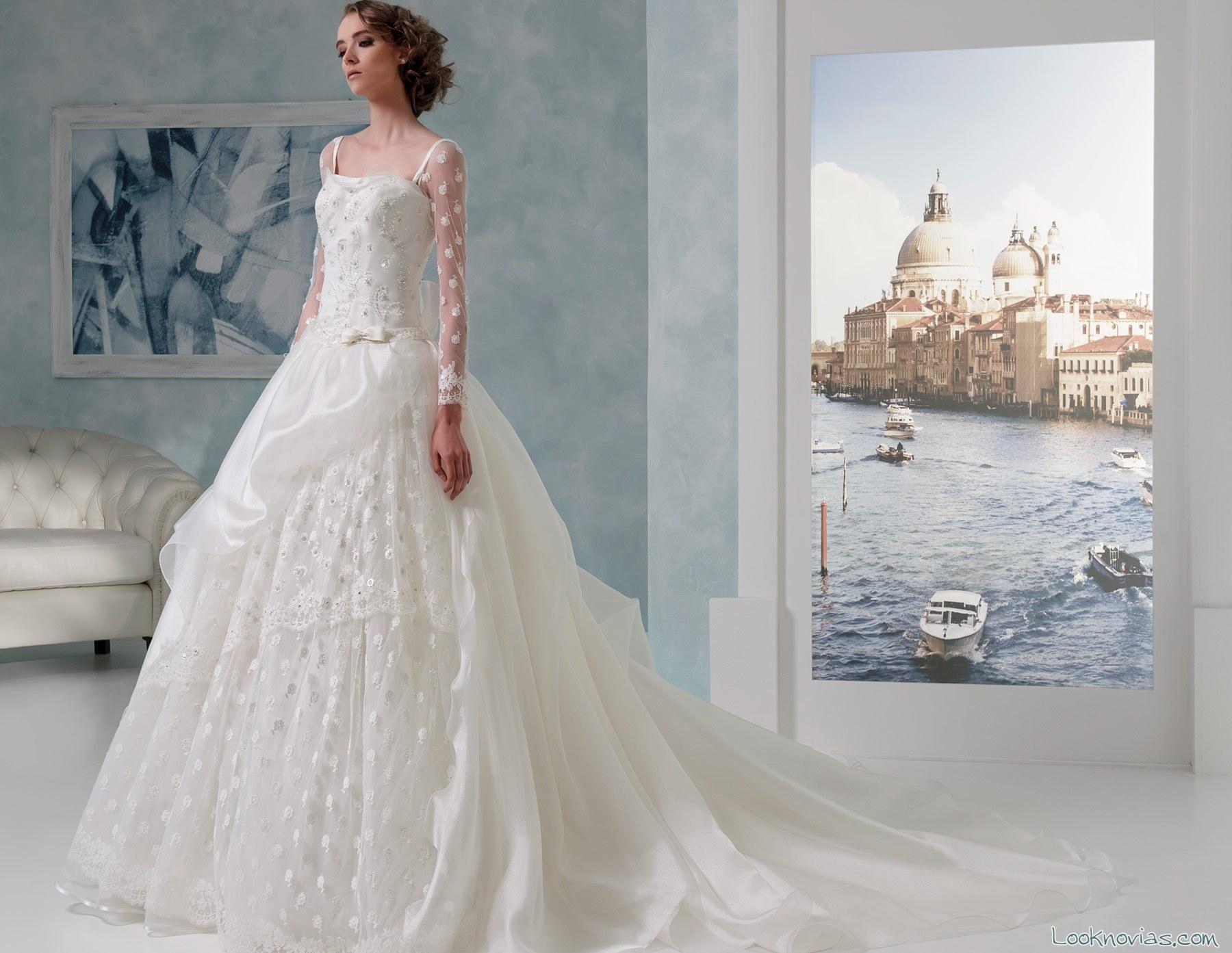 vestido evasé de toi spose