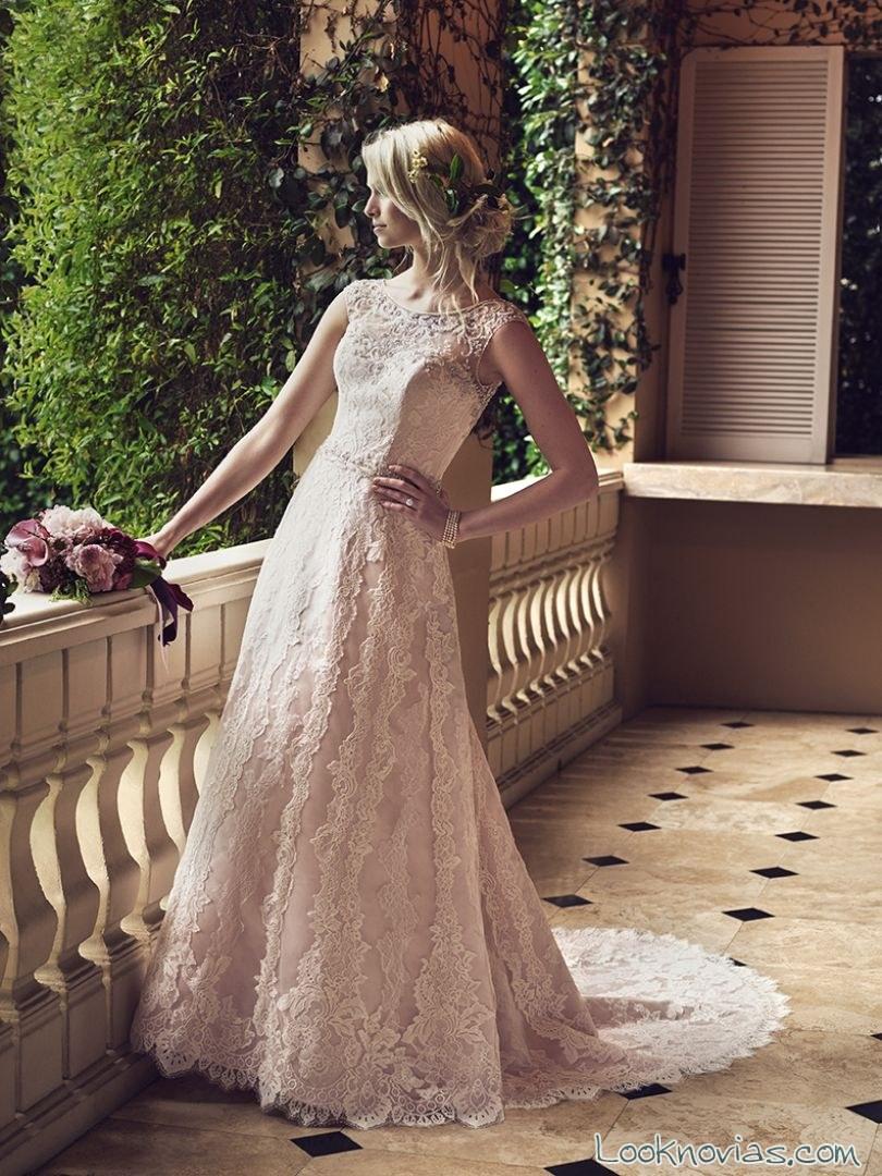 vestido evasé primavera 2016 novias casablanca bridal