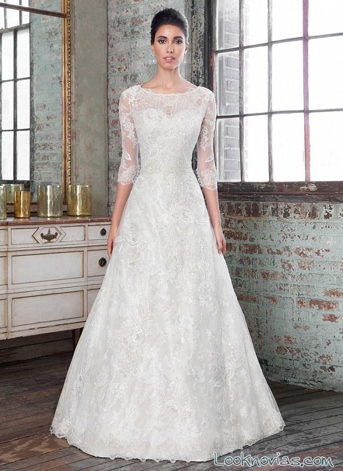 vestido evasé signature novias