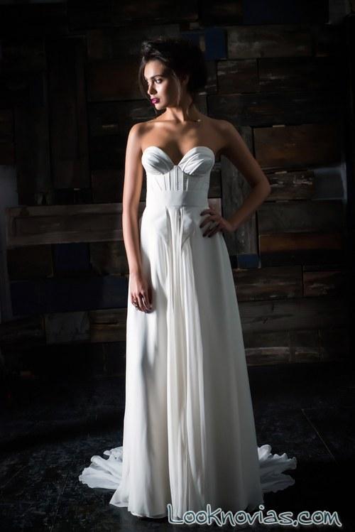 vestido falda ligera caída de carol hannah