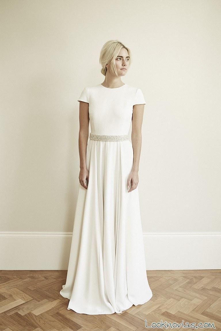 vestido falda plisada charlotte simpson