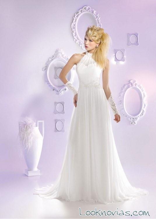 vestido just for you escote halter