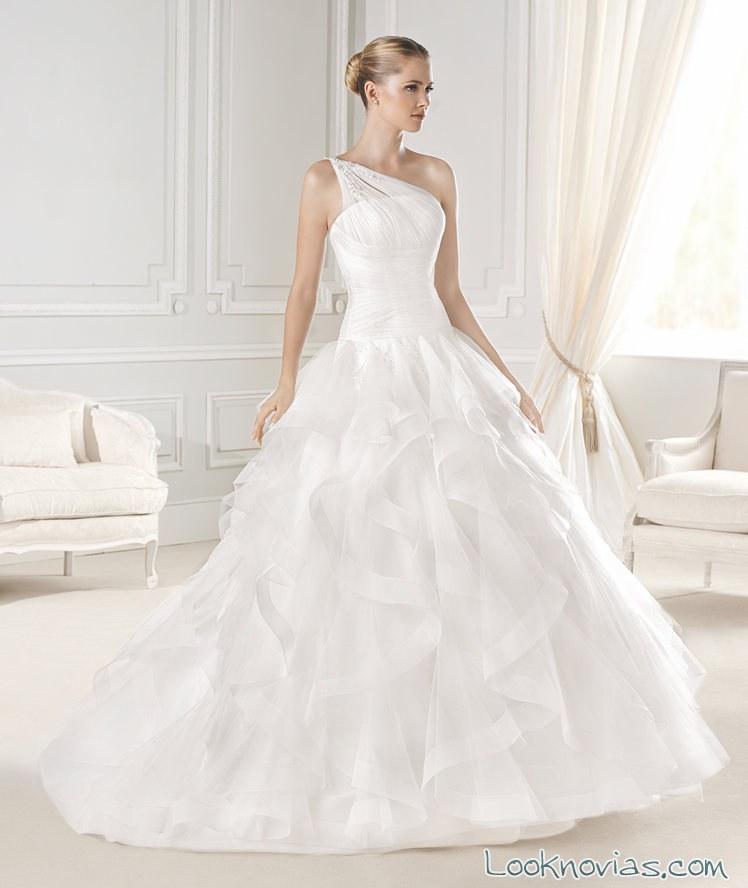 vestido la sposa colección dreams asimétrico