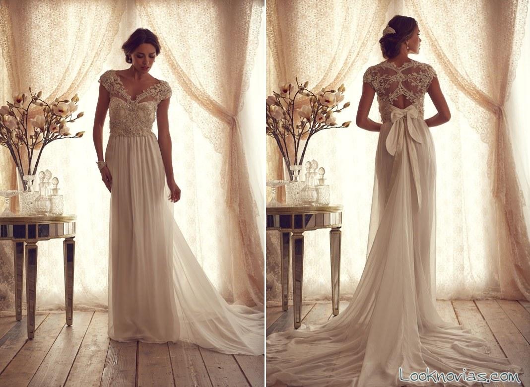 vestido largo de anna campbell
