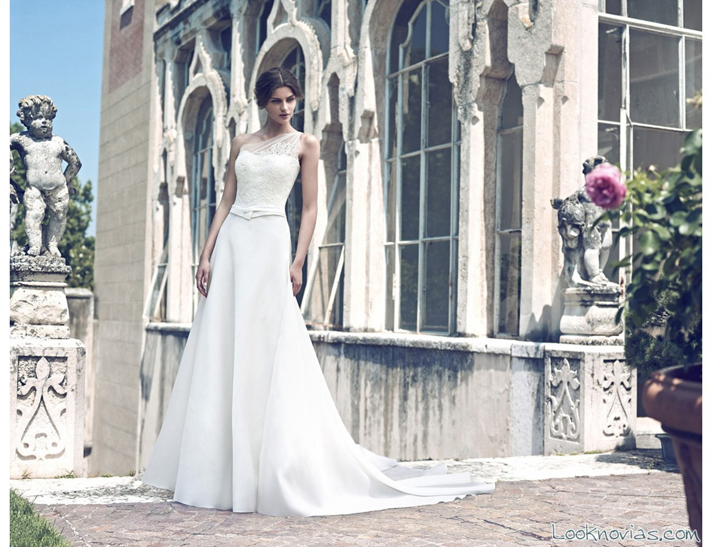 vestido largo de novia giuseppe papini
