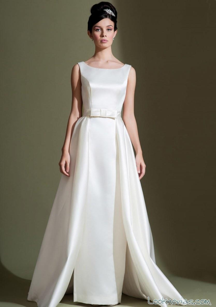 vestido largo doble falda de lou lou