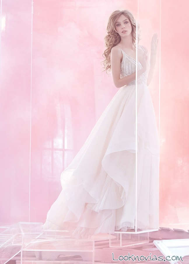 vestido largo hayley page