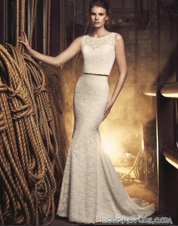 vestido mikaella bridal dos piezas