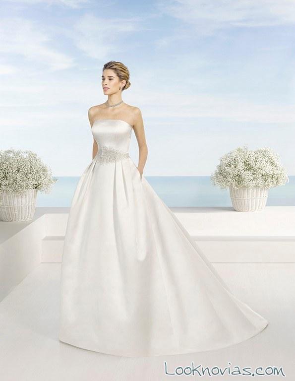 vestido minimalista luna novias