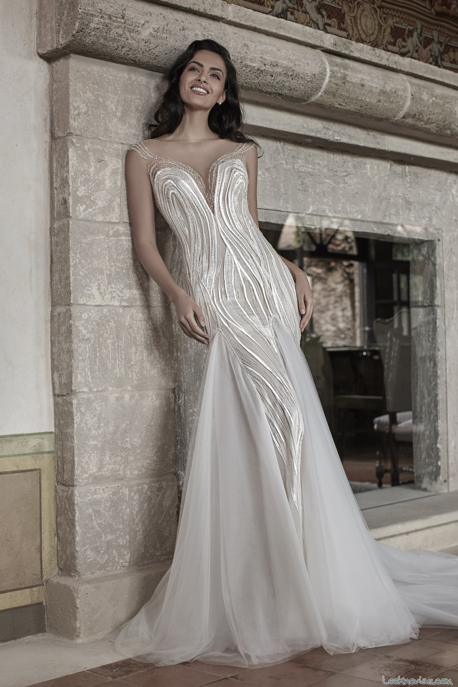 vestido novia bordados graziana valentini