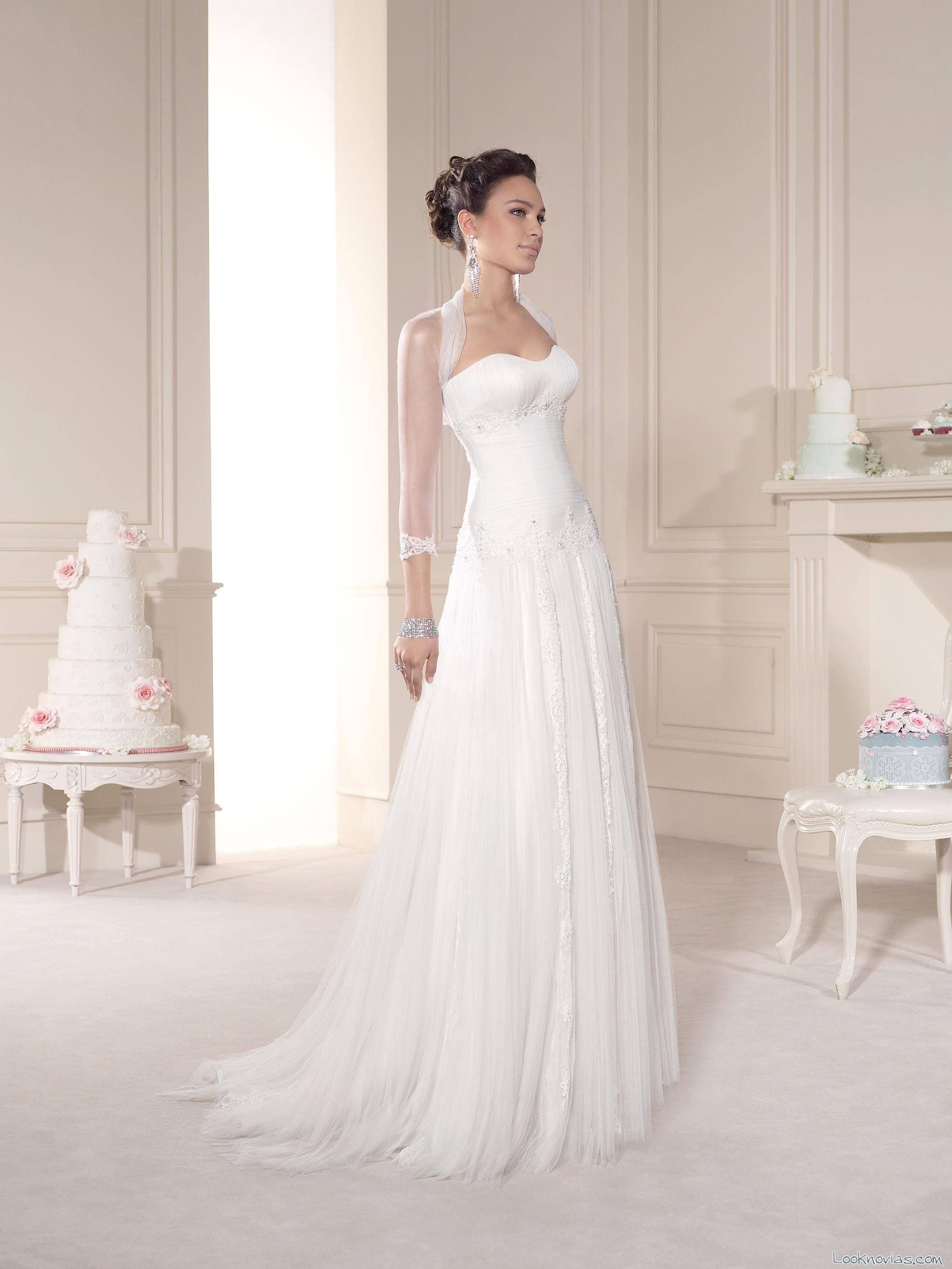 vestido novia d´art con bolero