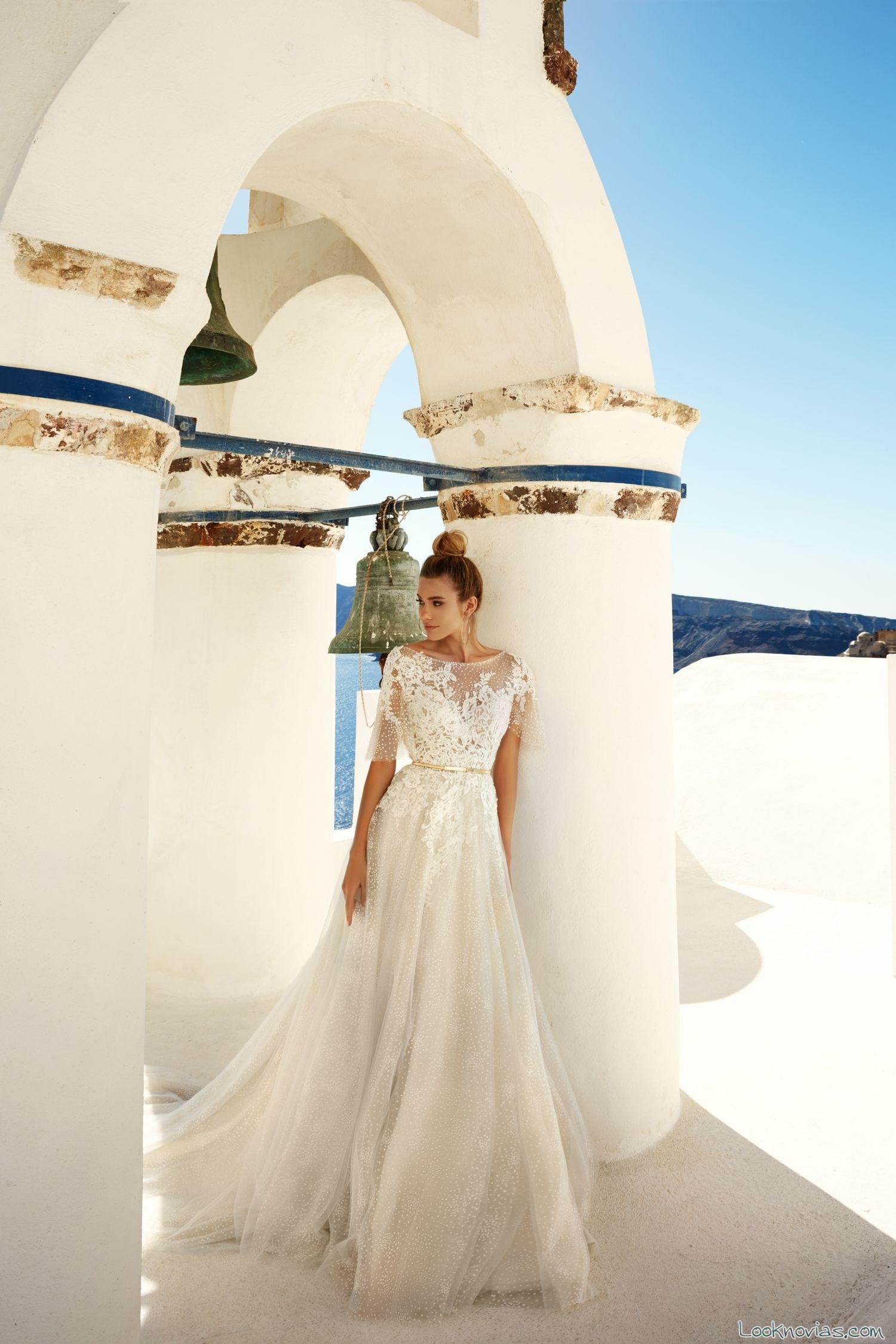 vestido novia eva lendel color blanco