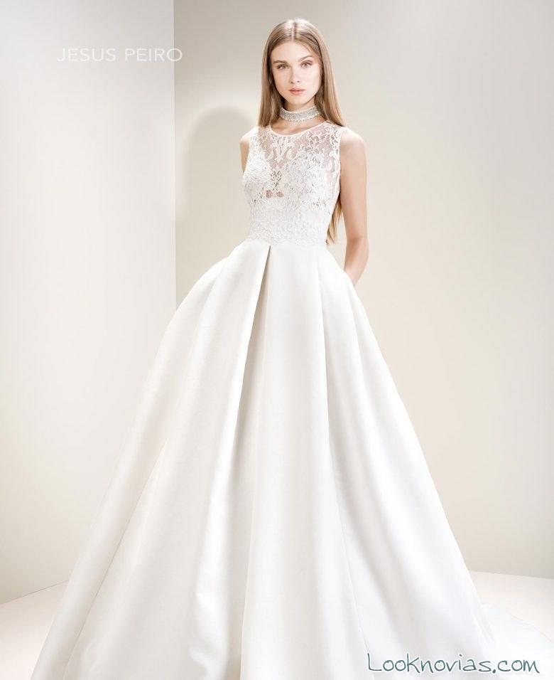 vestido novia jesús peiró nueva colección