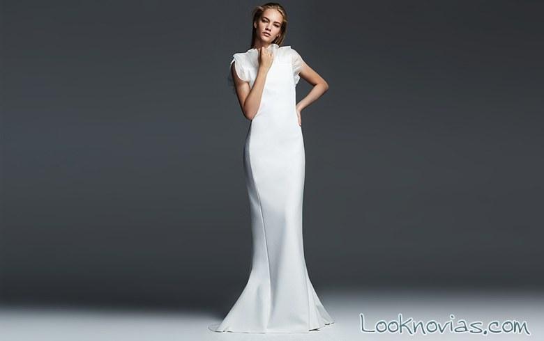 vestido novia recto max mara