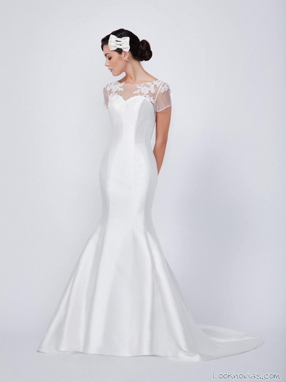 vestido novia sirena ada novias