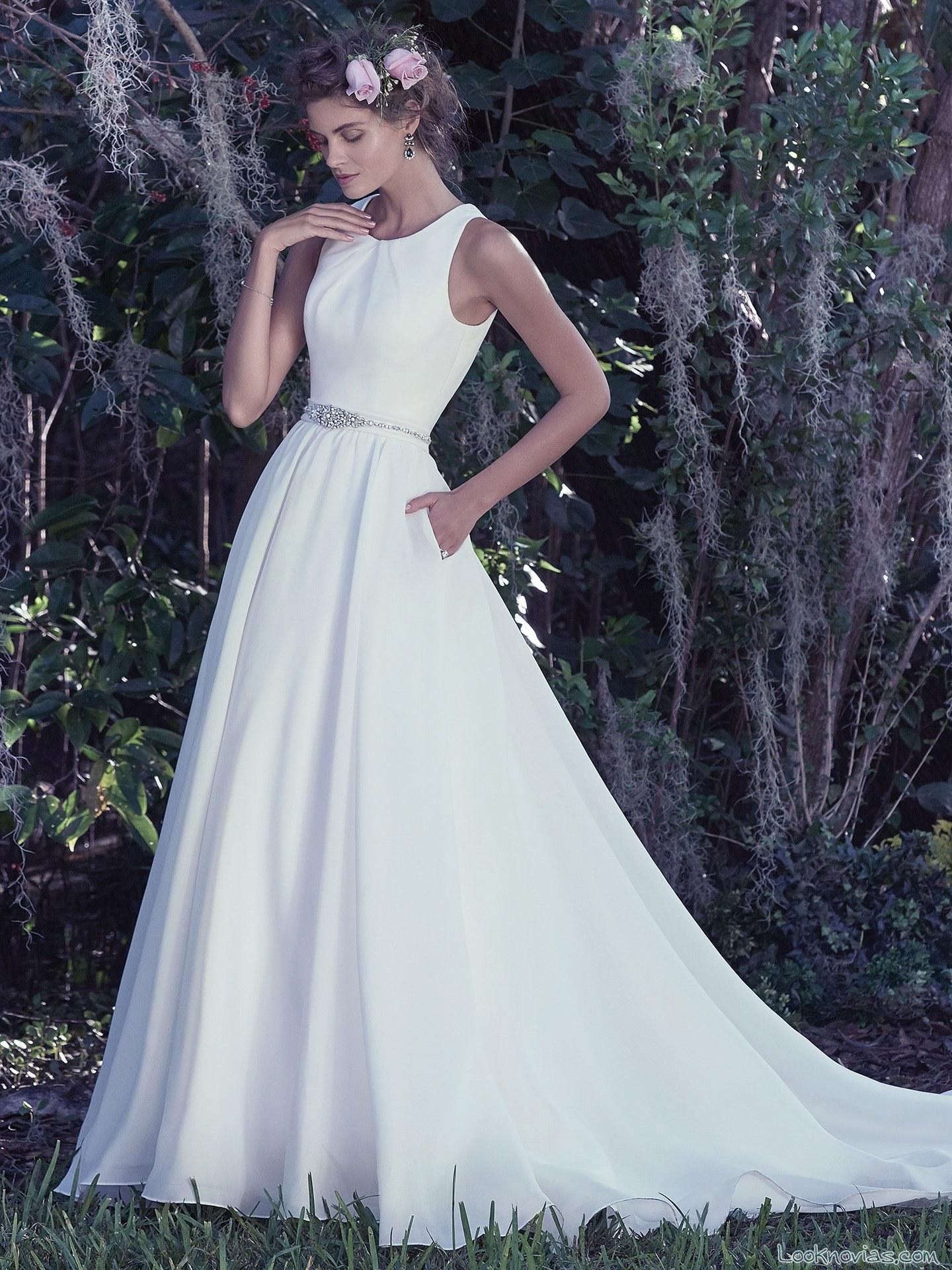 vestido novia vaporoso maggie sottero