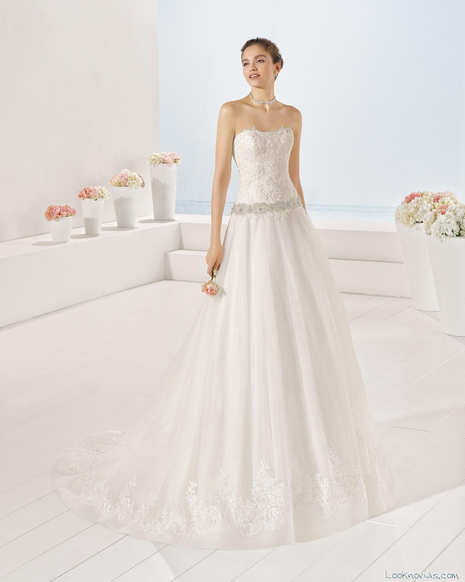 vestido novia yemina luna novias