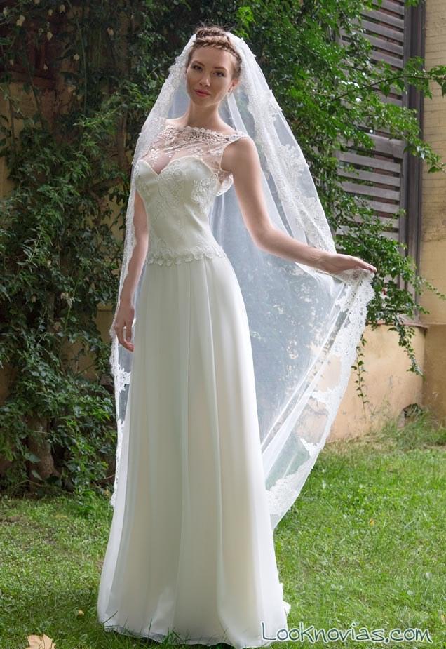 vestido novias avetis velo