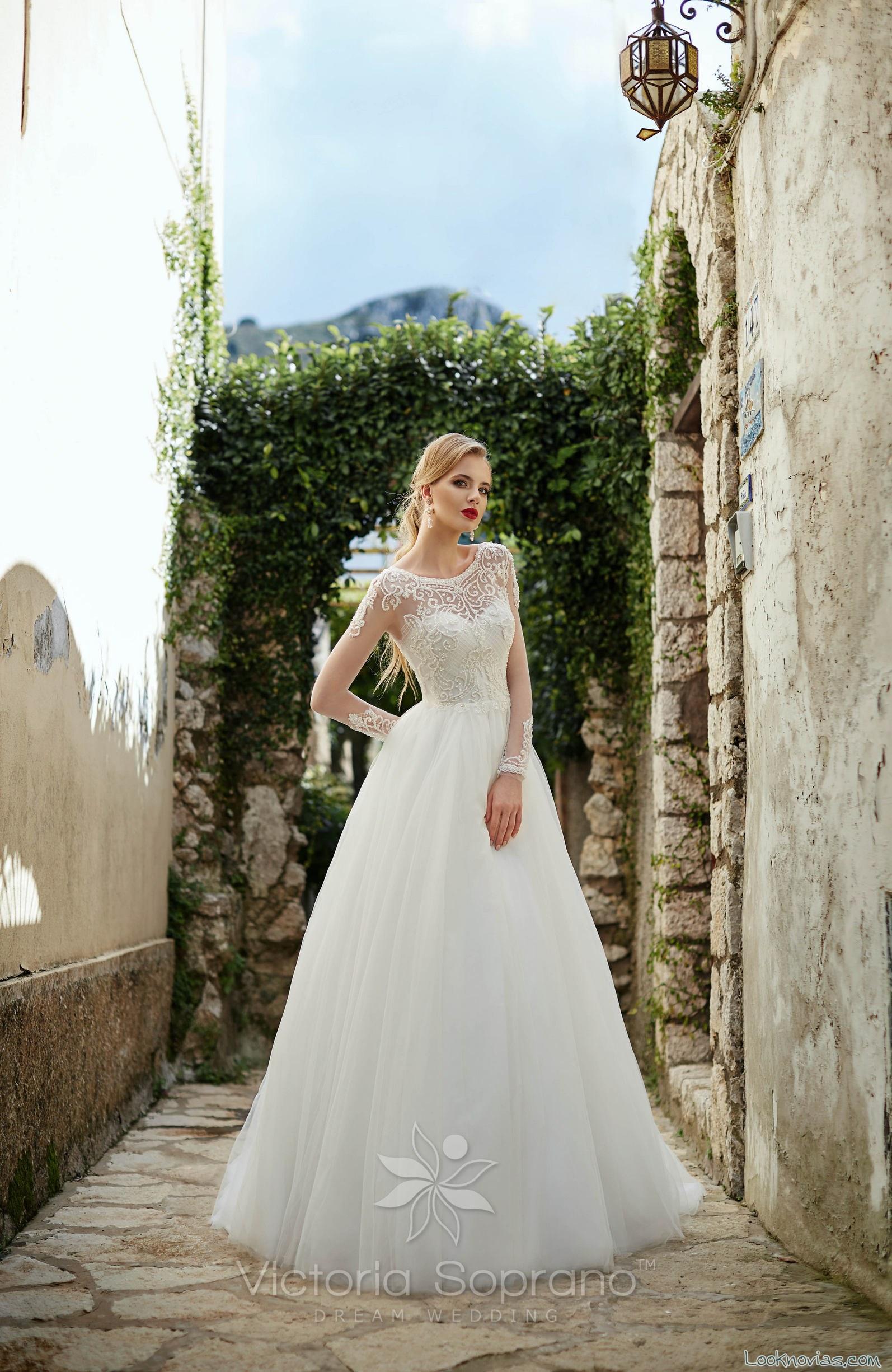 vestido novias falda lisa